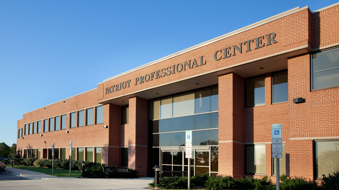 Ausherman Commercial Property - Patriot Professional Center exterior front