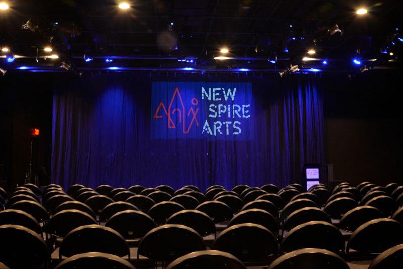 Ausherman Community Benefit Project - New Spire Arts theatre