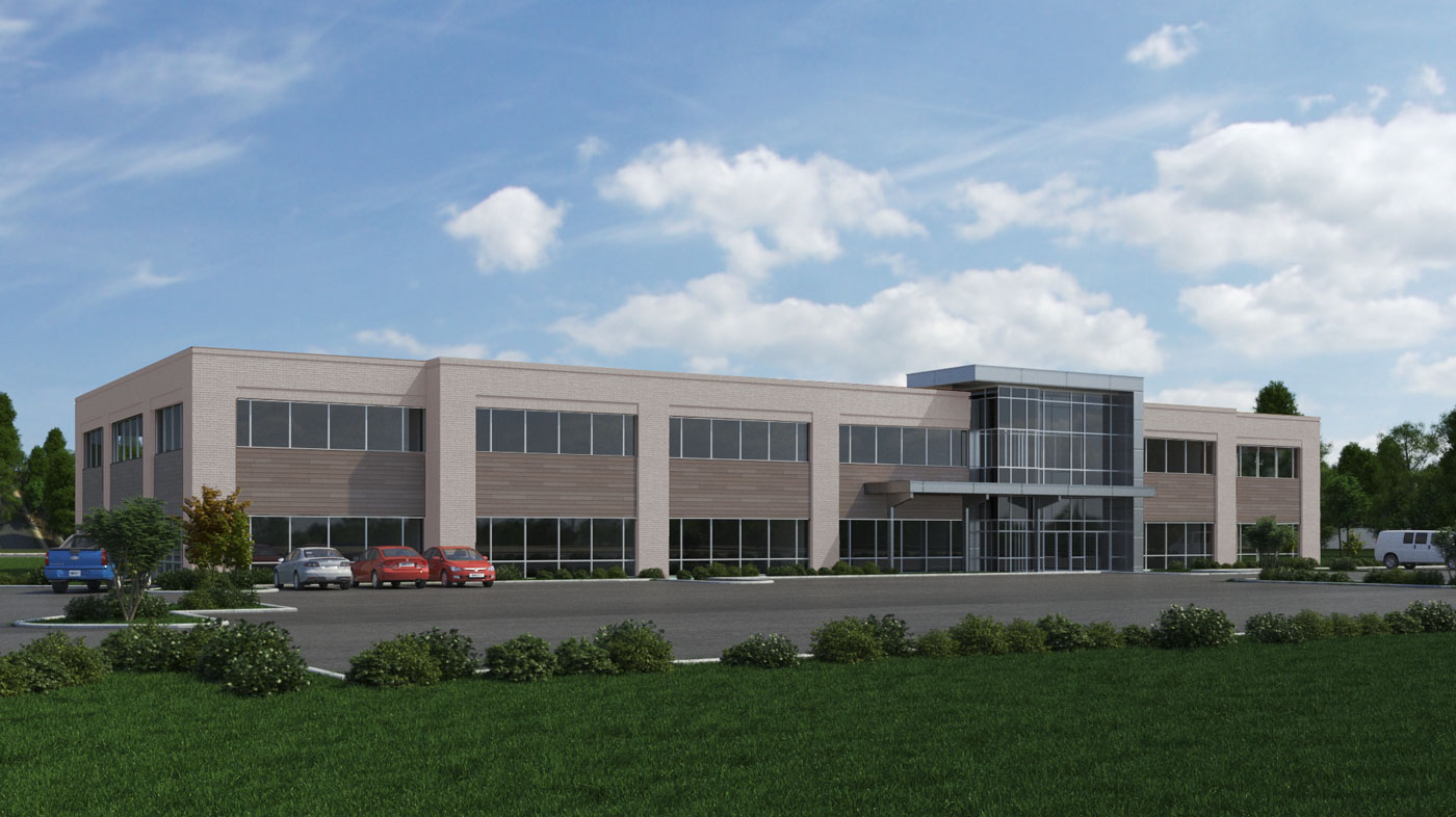 Ausherman Commercial Property: 7100 Guilford rendering
