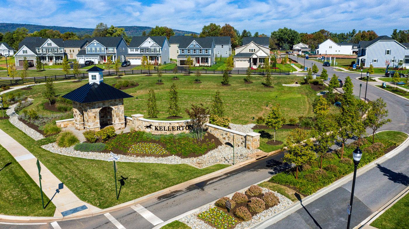 Ausherman Residential Property: Kellerton drone shot